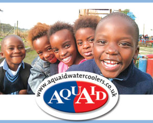 The Wishing Well Foundation Receives Donation from AquAid, UK