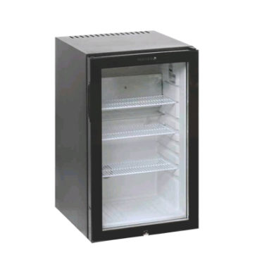 Tefcold Single Door – Black TM52G – Counter Top Minibar Fridge