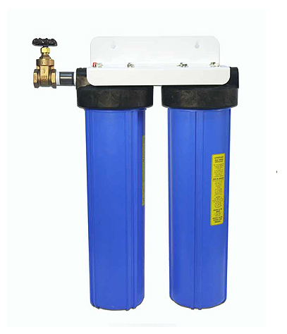 Double Housing Whole House Water Filter