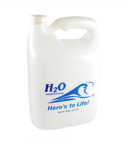 5L Refillable H2O Bottle
