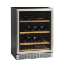 Tefcold Wine Cooler Glass Door-Dual Temp S/S Framed – TFW365-2S
