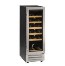 Tefcold Wine Cooler Glass Door S/S Framed – TFW375S