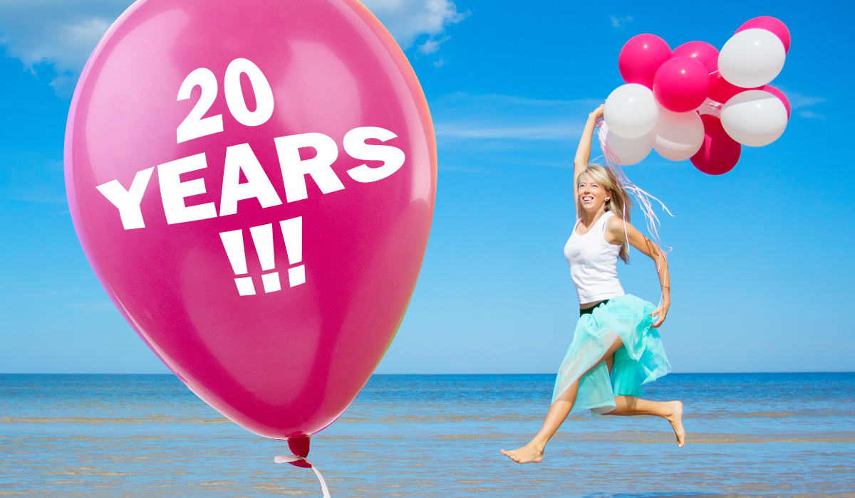Image of 20 year celebration