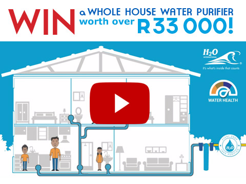 WIN a Whole House Water Purifier – Competition Closed