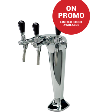 Cosmetal G663 Triple Dispenser Tap