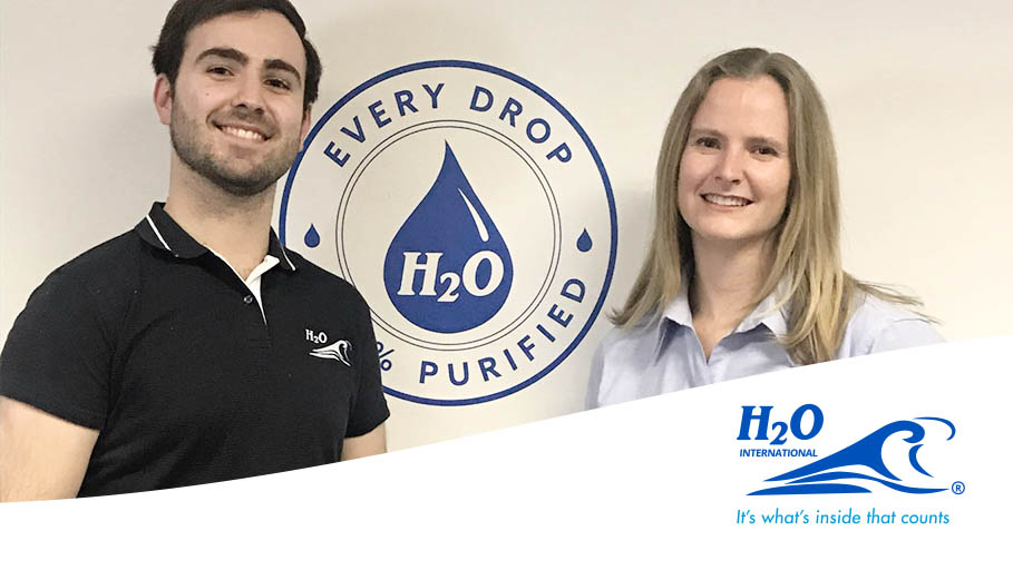 H2O International SA's head office welcomes two new members to the team