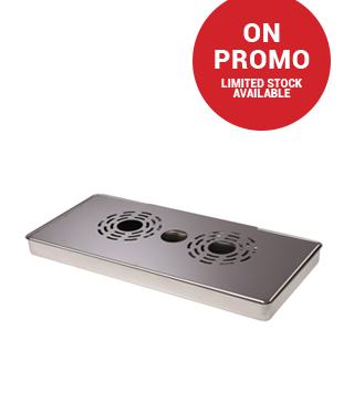 Cosmetal VR-IS Stainless Steel Drip Tray