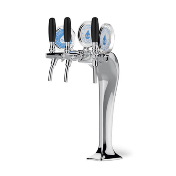 Celli Cobra Tower Dispenser - Triple Tap