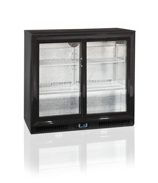 Tefcold Double Door, Sliding – DB200S-I – Back Bar Under-counter Fridge