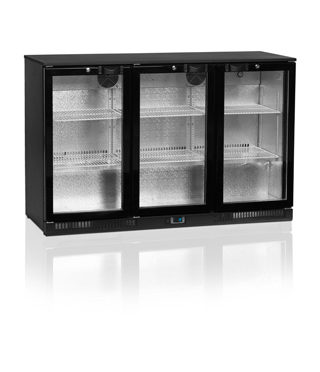 Tefcold Three Door, Hinged – DB300H-P – Back Bar Under-counter Fridge