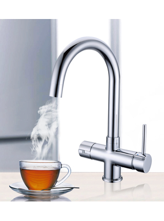 TriniT Under-counter Instant Boiling Water Dispenser – Tri-Flow Faucet