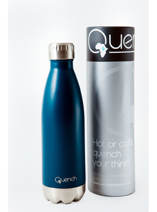 Quench Blue Drinking Bottle, Drinking Flask