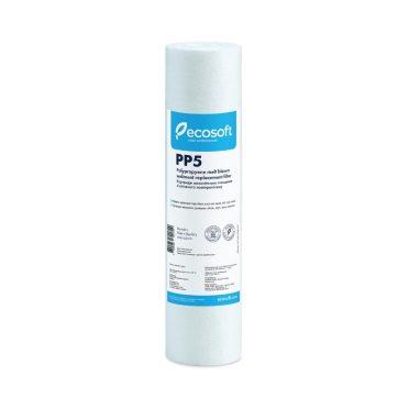 Ecosoft PP Meltblown Sediment 10″ 5 micron