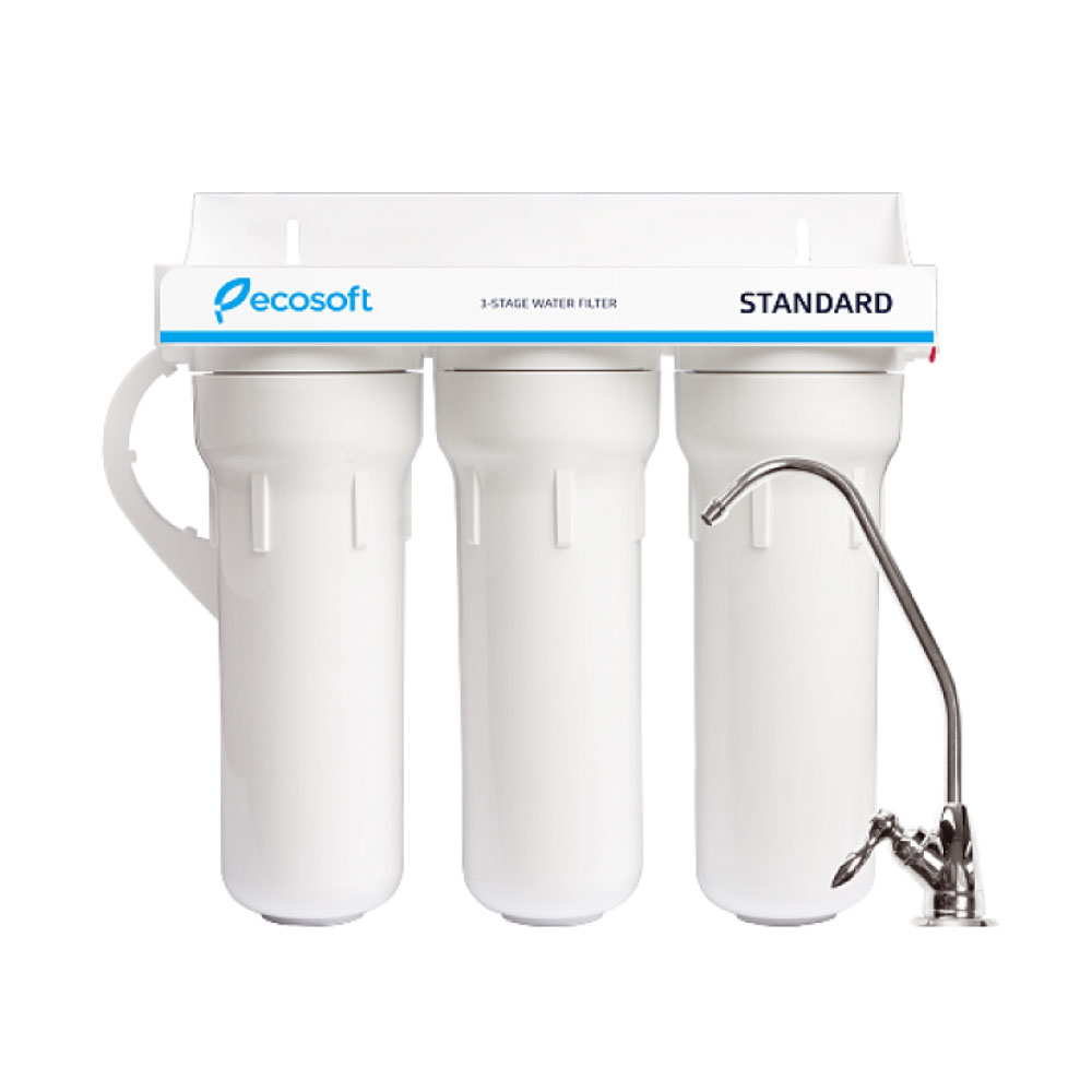 Ecosoft Standard 3-stage System with Faucet & Kit