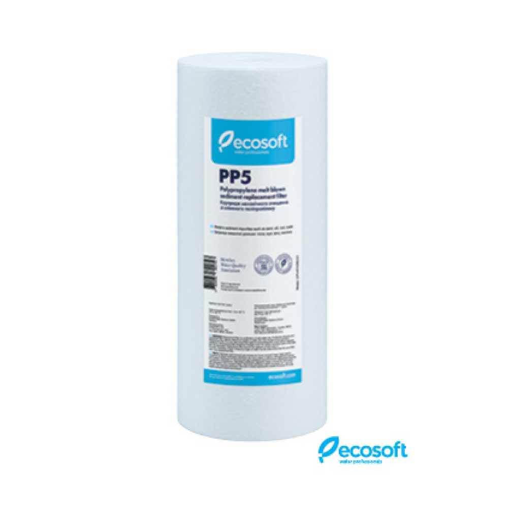 Ecosoft PP Meltblown Sediment BB10 5 micron