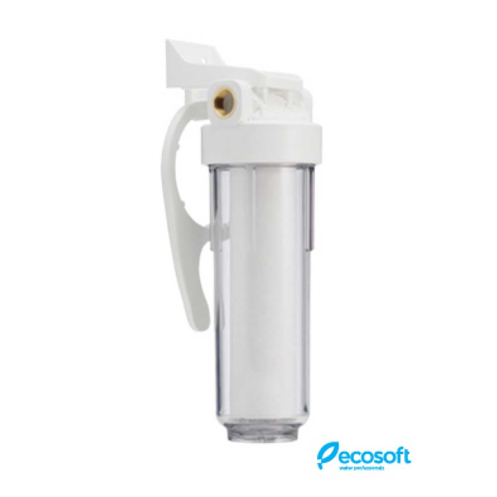 "Ecosoft Sediment filter housing 3/4"" with sed 5 micron"