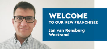 Welcome to our new franchisee - Jan Van Rensburg