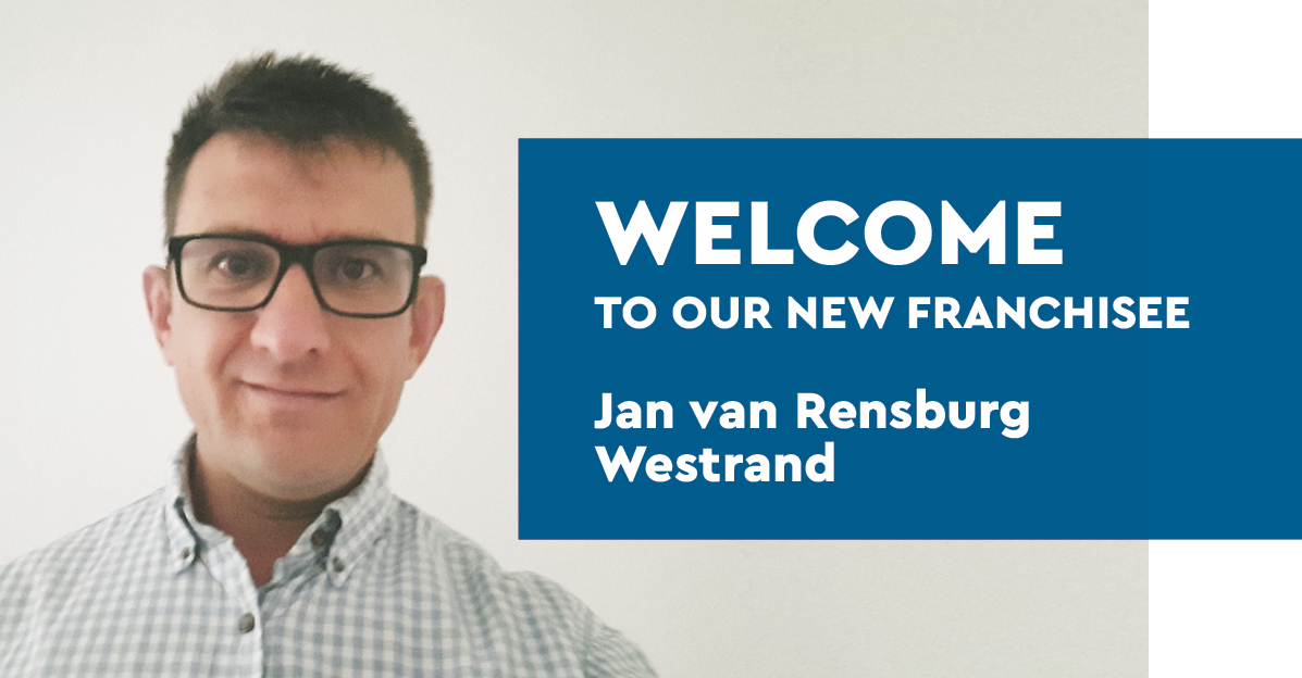 Welcome to our new franchisee – Jan Van Rensburg