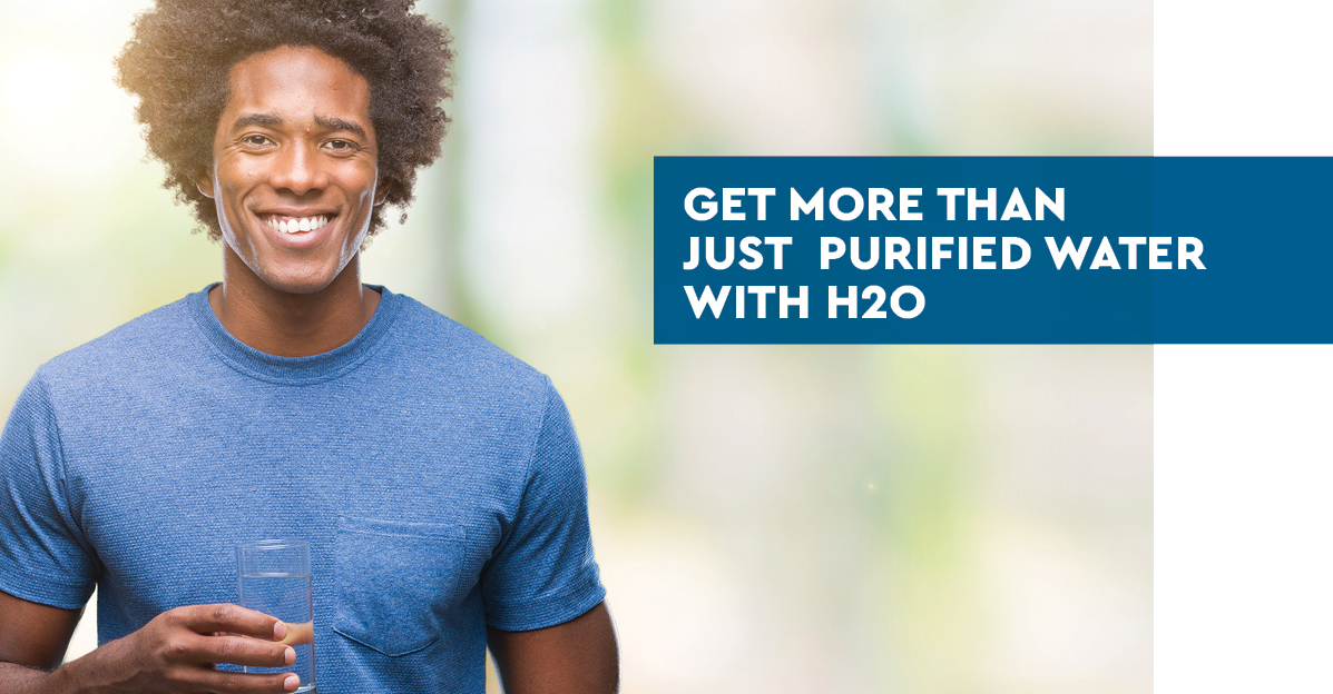 Get more than just purified water with H2O International.
