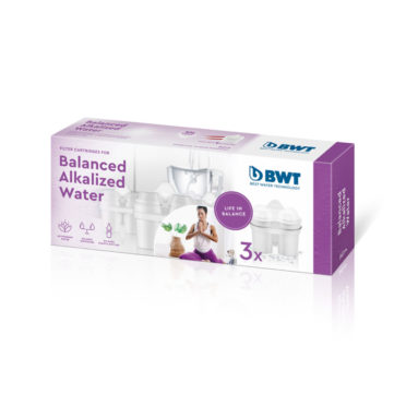BWT Balanced Alkalized Water Cartridges 3 X Pack