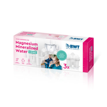 BWT Magnesium Minerlized Jug Cartridges + ZINC 3 X Pack