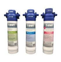 RV-US4-S Hi-flow Undersink Purifier with Sediment Filter & Faucet