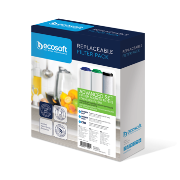 Ecosoft Absolute Filter Replacement Set for 3 Stage System