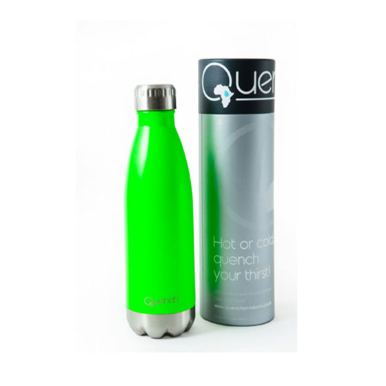 Quench Green Drinking Bottle, Drinking Flask