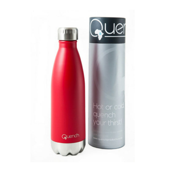 Quench red Drinking Bottle