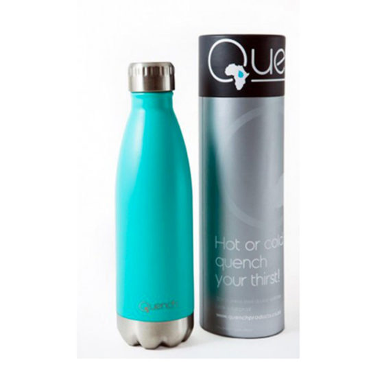 Quench Turquoise Drinking Bottle, Drinking Flask