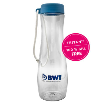 H2O | BWT Tritan 600ml Water Bottle – Blue