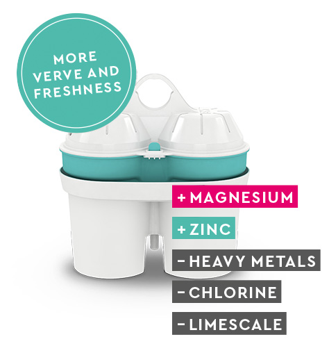 Magnesium Mineralized Water Zinc Catridge