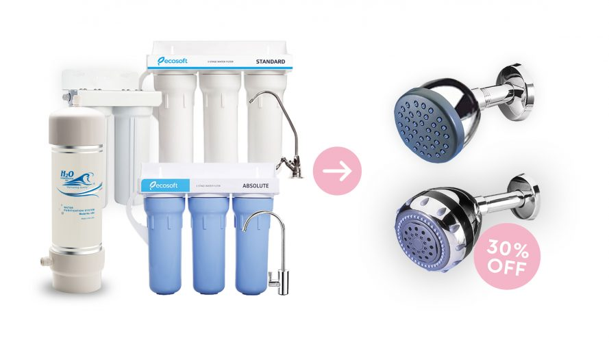 Undercounter-Showerfilter